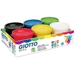 Giotto Fingerfarben 6 x 200 ml