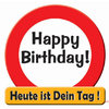 Riesen Schild Happy Birthday!