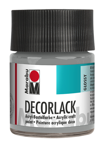 Marabu Decorlack Acryl 50 ml Metallic-Silber